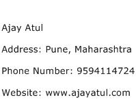 Ajay Atul Address Contact Number