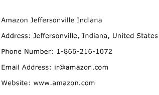 Amazon Jeffersonville Indiana Address Contact Number
