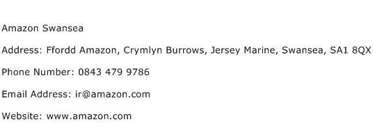 Amazon Swansea Address Contact Number
