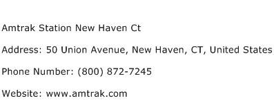 Amtrak Station New Haven Ct Address Contact Number