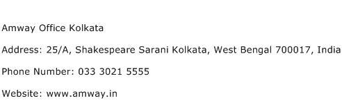 Amway Office Kolkata Address Contact Number