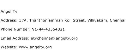 Angel Tv Address Contact Number