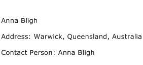 Anna Bligh Address Contact Number