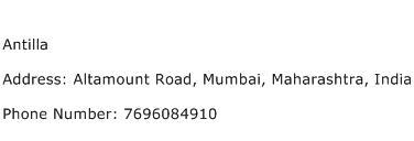 Antilla Address Contact Number