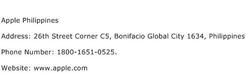 Apple Philippines Address Contact Number
