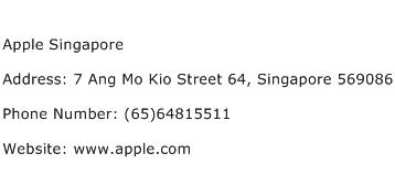 Apple Singapore Address Contact Number