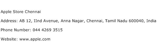 Apple Store Chennai Address Contact Number