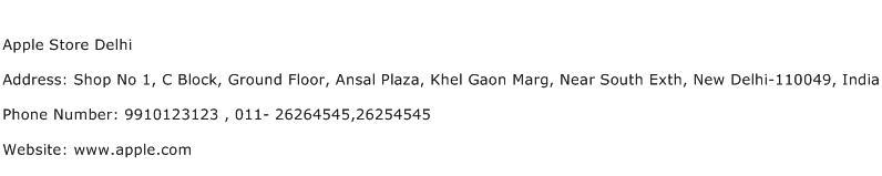 Apple Store Delhi Address Contact Number