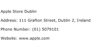 Apple Store Dublin Address Contact Number