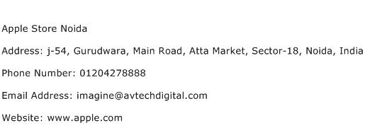Apple Store Noida Address Contact Number