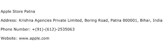 Apple Store Patna Address Contact Number