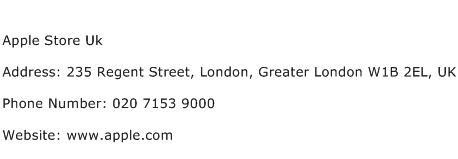 Apple Store Uk Address Contact Number