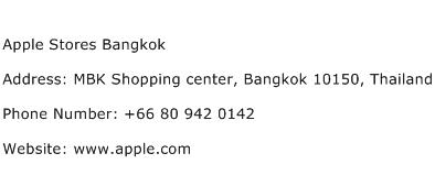 Apple Stores Bangkok Address Contact Number