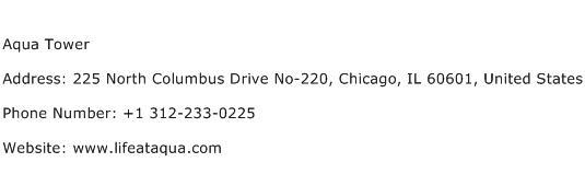 Aqua Tower Address Contact Number