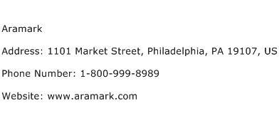Aramark Address Contact Number