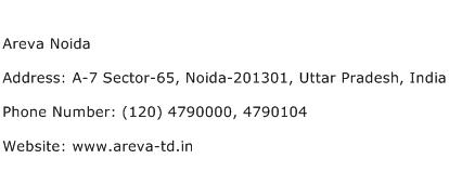 Areva Noida Address Contact Number