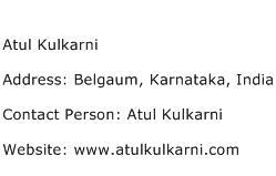 Atul Kulkarni Address Contact Number