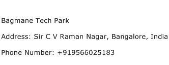Bagmane Tech Park Address Contact Number