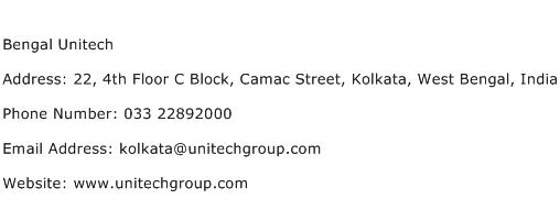 Bengal Unitech Address Contact Number