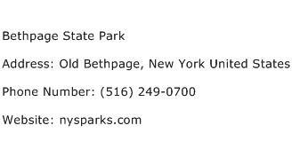 Bethpage State Park Address Contact Number