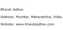 Bharat Jadhav Address Contact Number