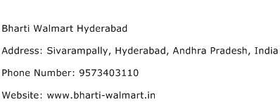 Bharti Walmart Hyderabad Address Contact Number