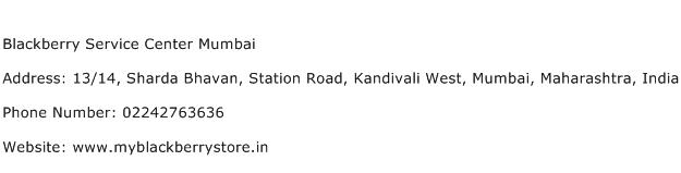 Blackberry Service Center Mumbai Address Contact Number