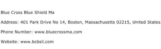 Blue Cross Blue Shield Ma Address Contact Number