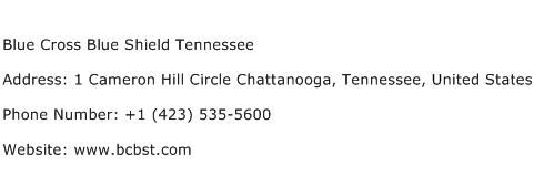 Blue Cross Blue Shield Tennessee Address Contact Number