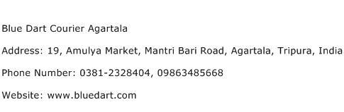 Blue Dart Courier Agartala Address Contact Number