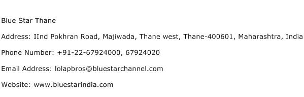 Blue Star Thane Address Contact Number