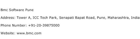 Bmc Software Pune Address Contact Number