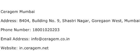 Ceragem Mumbai Address Contact Number