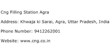 Cng Filling Station Agra Address Contact Number
