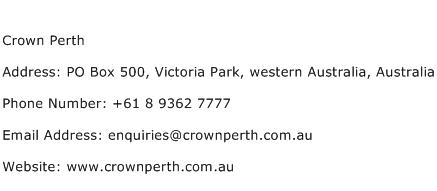 Www Crownperth
