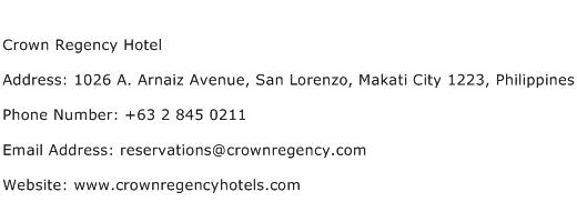 Crown Casino Address
