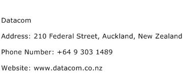 Datacom Address Contact Number