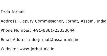 Drda Jorhat Address Contact Number