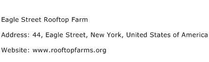 Eagle Street Rooftop Farm Address Contact Number