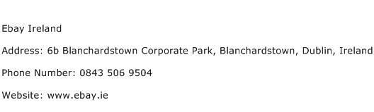 Ebay Ireland Address Contact Number Of Ebay Ireland