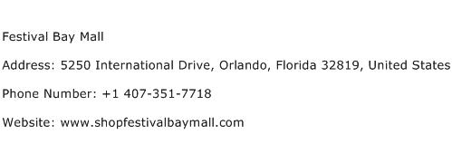Festival Bay Mall Address Contact Number