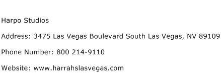 Harpo Studios Address Contact Number