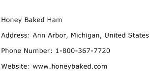 Honey Baked Ham Address Contact Number