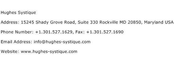 Hughes Systique Address Contact Number