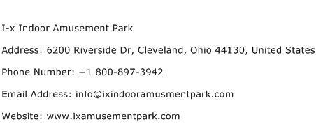 I x Indoor Amusement Park Address Contact Number