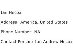 Ian Hecox Address Contact Number