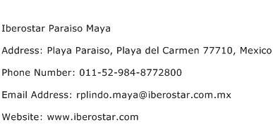 Iberostar Paraiso Maya Address Contact Number