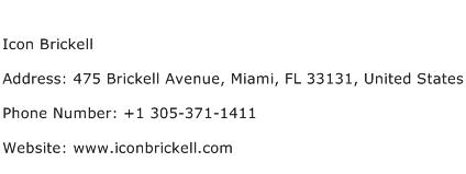 Icon Brickell Address Contact Number