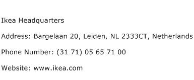 Ikea Headquarters Address Contact Number