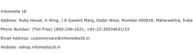 Infomedia 18 Address Contact Number